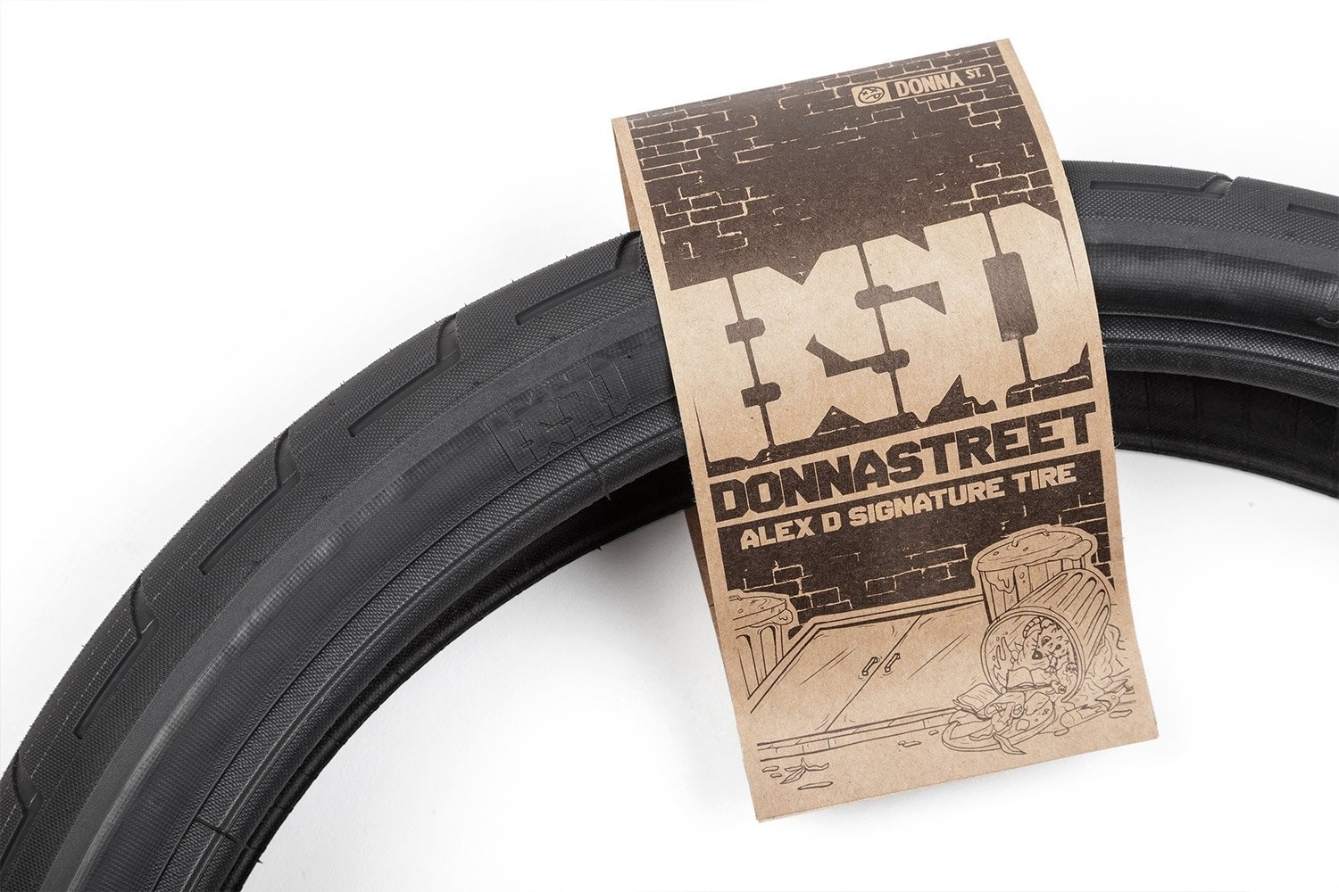 BSD BSD Donnastreet Tire - 20 x 2.3, Clincher, Wire, Black