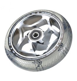 Envy ENVY WHEEL 120MM TRI BEARING CHROME/CLEAR