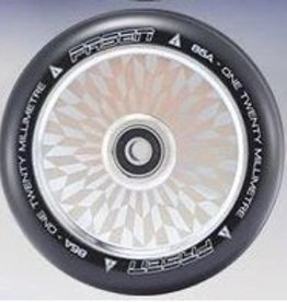 Envy FASEN HOLLOW CORE  SCOOTER WHEEL OFF CHROME/BLACK 120MM