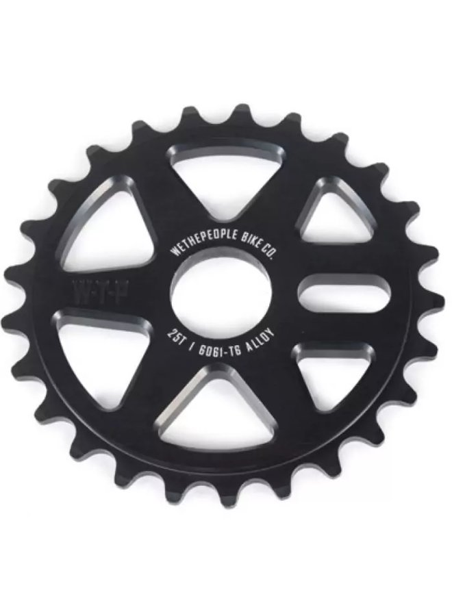 WE THE PEOPLE LOGIC SPROCKET 25T BLACK