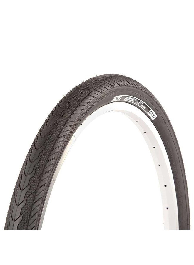EVO, Parkland, Tire, 26''x1.95, Wire, Clincher, Black