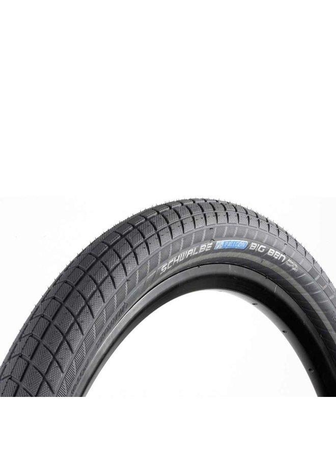Schwalbe Big Ben Tire 27.5 x 2.00 (50-584) Black, Reflective Strip, SBC, K-Guard, Wire