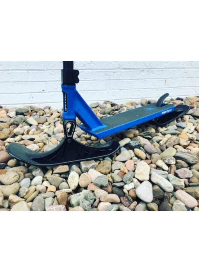 SCOOTER SKI SOLD AS PAIR BLACK
