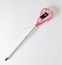 "STX STX LILLY COMPLETE STICK - 39"" Youth - Sil/Pink/Green"