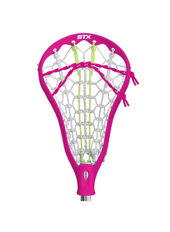 """STX LILLY COMPLETE STICK - 39"""" Youth - Sil/Pink/Green"""