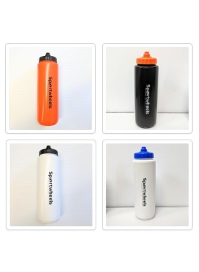 SPORTWHEELS 1000ML SQUEEZE TOP WATER BOTTLE
