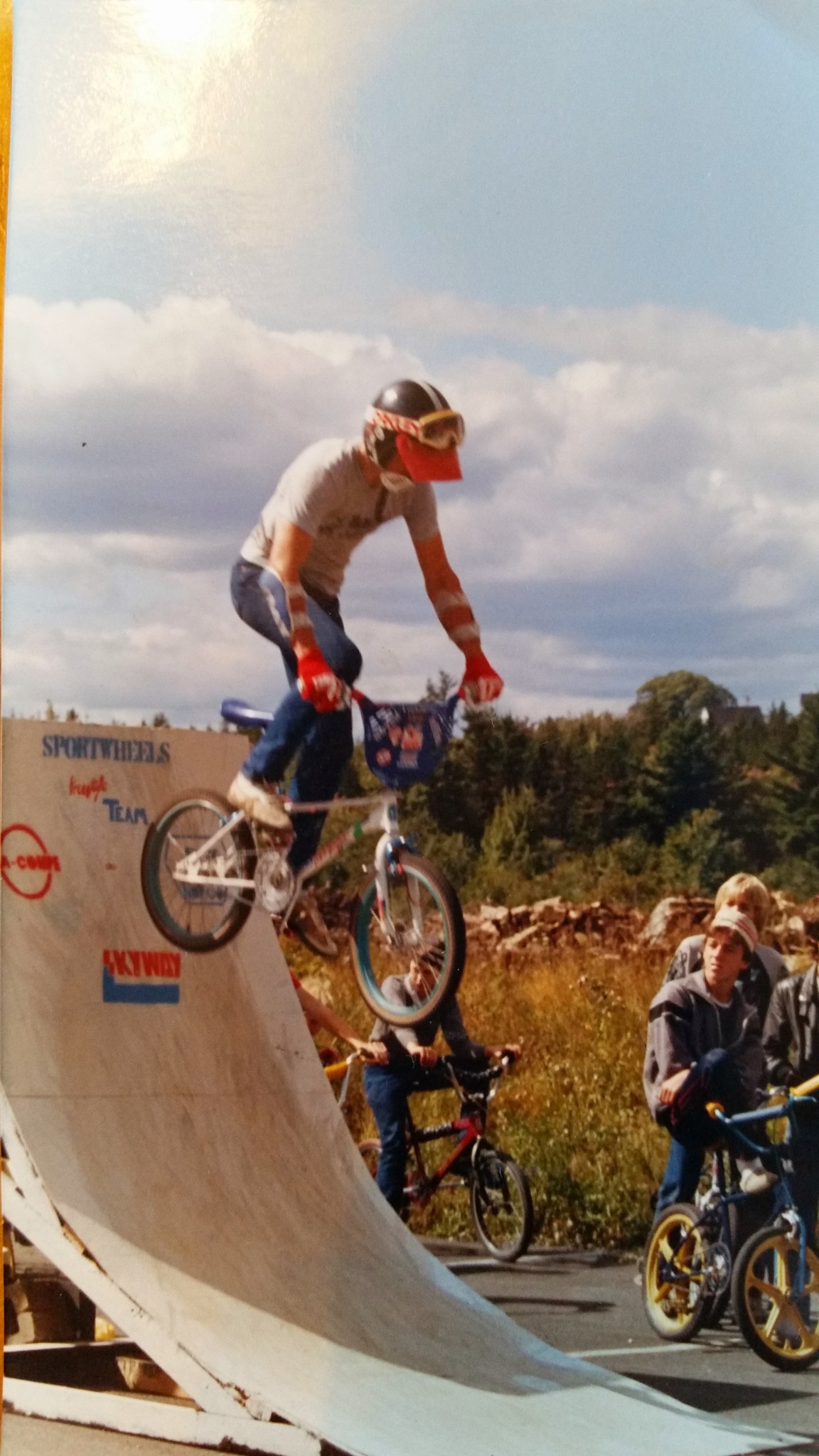 Sp[ortwheels BMX Team 1980's