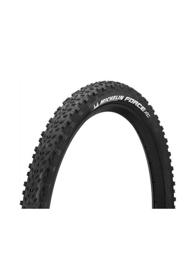 Michelin, Force XC, 29x2.25, Folding, GUM-X, Tubeless Ready, Black