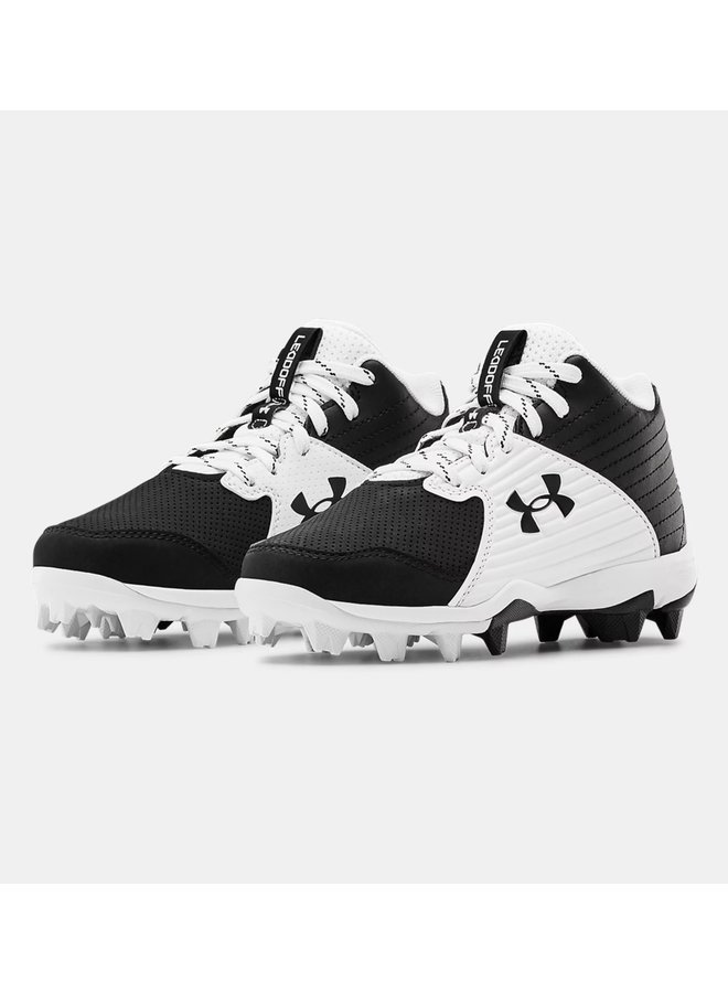 2021 UNDER ARMOUR LEADOFF MID RM CLEAT JR