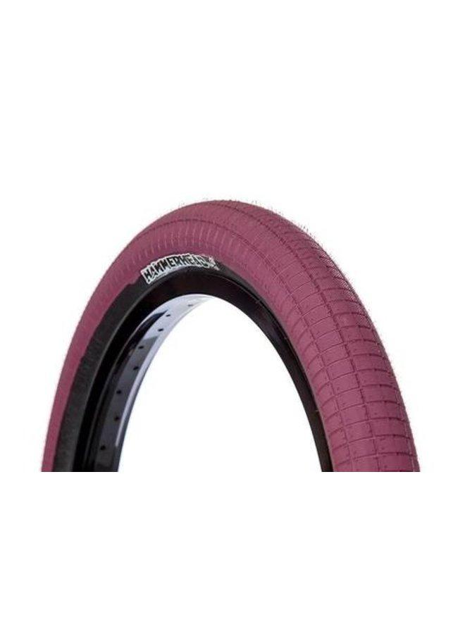 Demolition Hammerhead tire -2.4 - Maroon