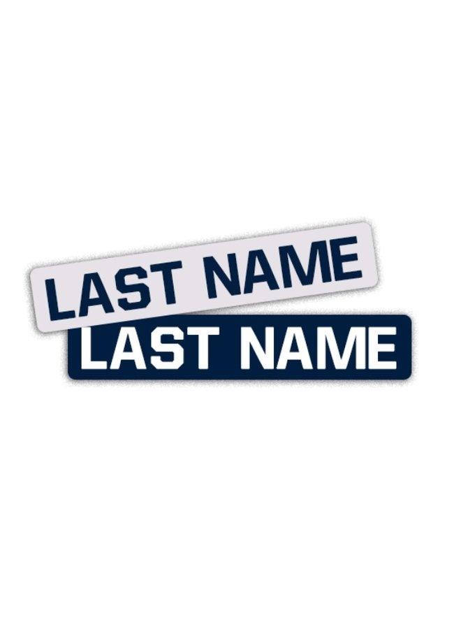 NAME BAR - Custom Name Bars