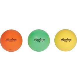 Rawlings RAWLINGS HITTRAIN FOAM TRAINER BALLS 3 PACK