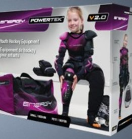 Powertek POWERTEK GIRL'S STARTER KIT LARGE/X-LARGE 7 PIECE