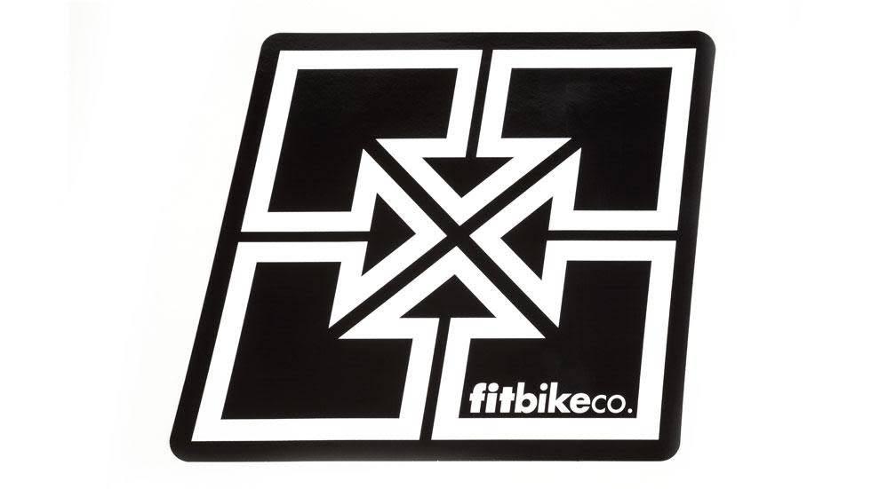FIT BIKE CO Fit Decal - Large sticker - Key Logo
