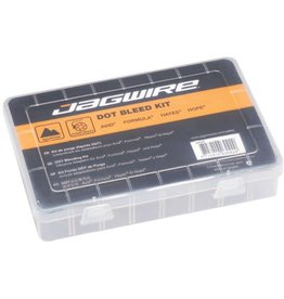 JAGWIRE JAGWIRE DOT FLUID BLEED KIT BRAKE MAINTENANCE KIT