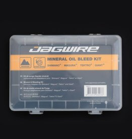 JAGWIRE JAGWIRE PRO MINERAL OIL BLEED KIT BRAKE MAINTENANCE KIT