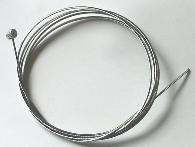 JAGWIRE BRAKE CABLE INNER .EA - 2000mm Length