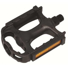 "Evo Pedals 1/2"" Resin Pedal - Black"