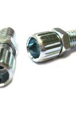 Barrel adjuster - EA. Steel small thread