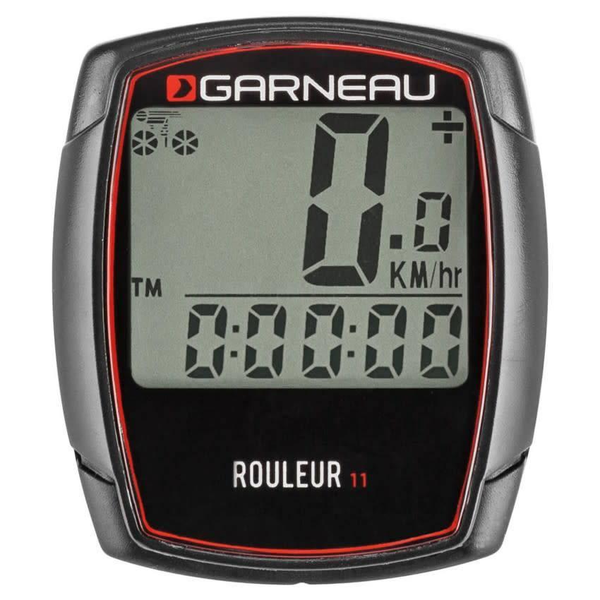 Louis Garneau LOUIS GARNEAU ROULEUR 11 CYCLOMETER WIRED 11 FUNCTION