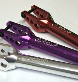 Axia AXIA SCOOTER FORK SV1 - PITCHED / DRILLED HOLES COLOR - PURPLE