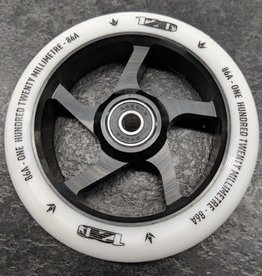 Envy Envy Wheel - 120mm - White/BLACK - Ea.