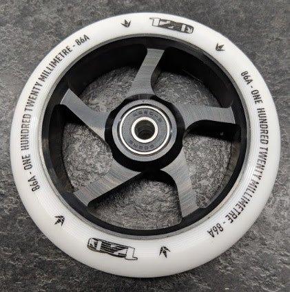 Envy Envy Wheel - 120mm - White/BLACK - Ea.