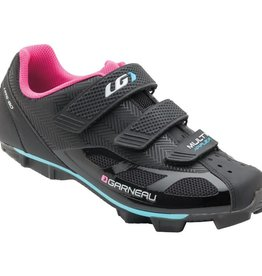 Louis Garneau Louis Garneau WOMEN'S MULTI AIR FLEX CYCLING SHOES BLACK/PINK 42 / US 11