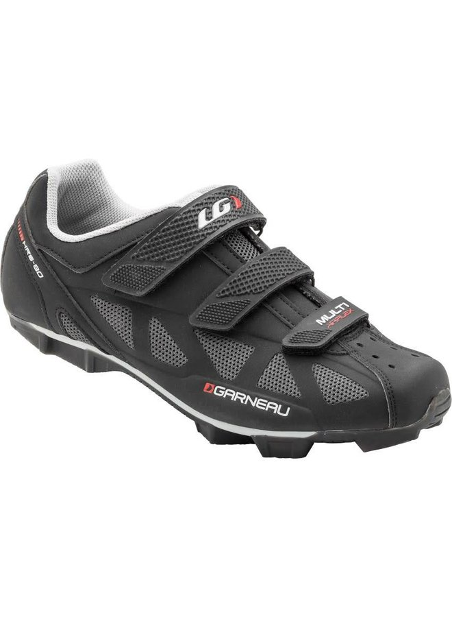 Louis Garneau MULTI AIR FLEX CYCLING SHOES BLACK 40 / US 7