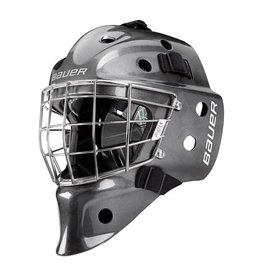 Bauer Hockey BAUER NME VTX SR GOALIE MASK SILVER FIT 2