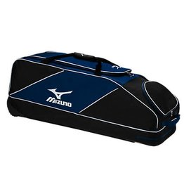 Mizuno MIZUNO CLASSIC WHEEL BAG BASEBALL BAG NAVY