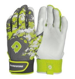 DeMarini DEMARINI DIGI II BATTING GLOVE ADULT OPTIC GREEN LARGE