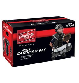Rawlings RAWLINGS RENEGADE 2.0 CATCHER SET AGE 15 AND UP BLACK