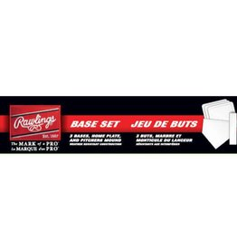 Rawlings Rawlings Playball Baseball Base Set 5 PC