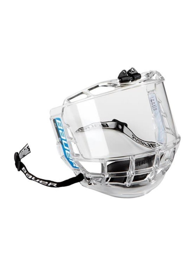 Bauer visor Concept 3 full clear Jr.