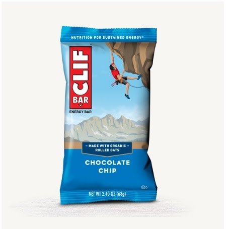 Clif Clif, Energy bar, Chocolate Chip, each