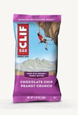 Clif Clif, Energy bar, Chocolate Chip Peanut Crunch, each