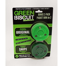 GREEN BISCUIT GREEN BISCUIT 2 PACK ORIGINAL & SNIPE