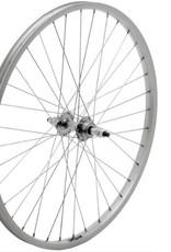 "49N 24"" Wheel - Alex X101 REAR WHEEL STEEL HUB - Spin on"