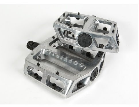 FIT BIKE CO FIT MAC Alloy PEDALS - Silver