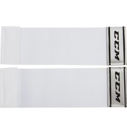 "CCM Hockey CCM SENIOR 4"" CALF ELASTIC STRAP WHITE"