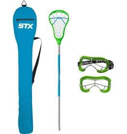 STX STX EXULT 200 STARTER PACK  - STICK,BAG,GOGGLES - LIZARD ELEC.