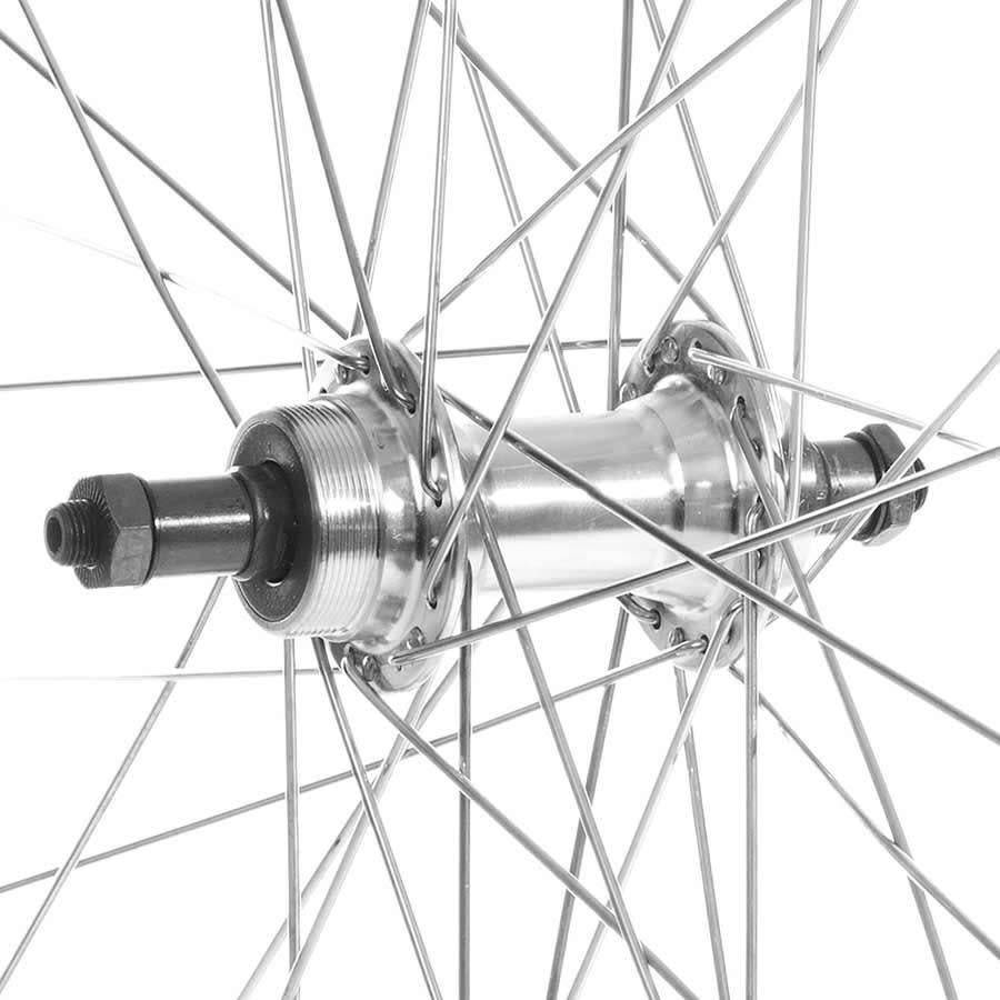 """49N Alex Z1000 26"""" Rear Wheel QR 6/7 Speed FW 36H SIL"""