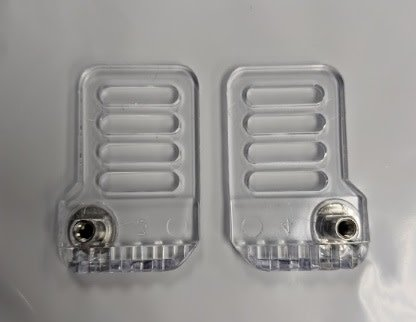 Bauer Hockey BAUER HDO DELUXE SIDE CLIP VISOR REPLACEMENT CLIPS SOLD IN PAIRS