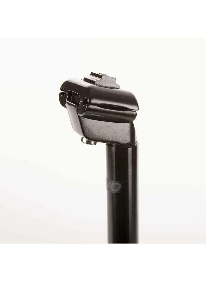 EVO kalloy seatpost - Black - 400mm x 31.6mm