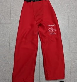 Mosspro Mosspro Belted Ringette Pants - Red - Senior