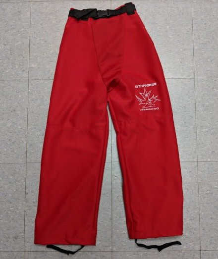 Mosspro Mosspro Belted Ringette Pants - Red - Senior