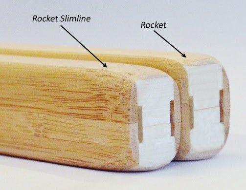 """RingJet RINGJET ROCKET SLIMLINE RINGETTE STICK NATURAL/GOLD 55"""""""