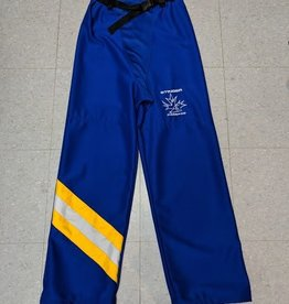 Mosspro Custom Mosspro Belted Ringette Pants - Blue - Senior