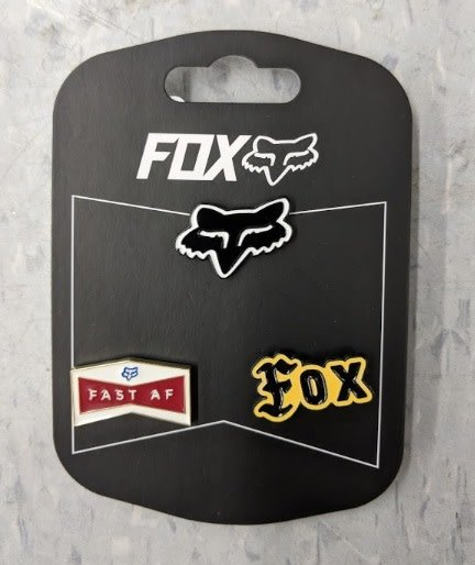 FOX FOX FLAT TRACK PIN PACK - 3 Pins